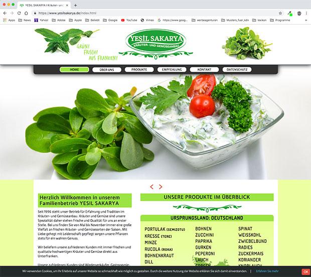 Website Yesilsakarya