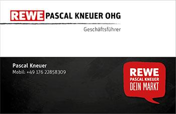 Visitenkarte Rewe