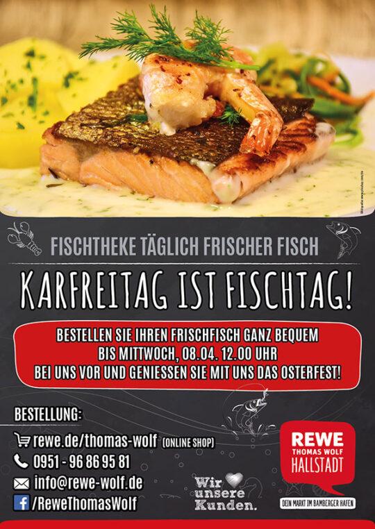 Imageflyer, Karfreitag ist Fischtag