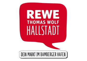 Logo rewe Thomas Wolf