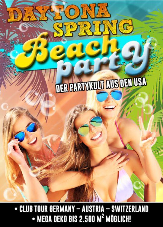 Daytona Spring, Beach Party
