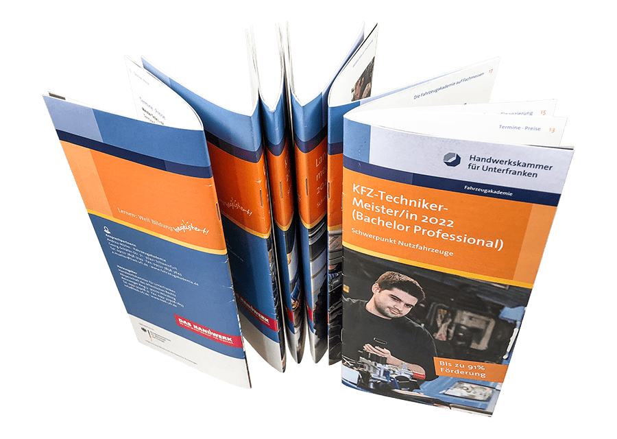 broschüre gestalten