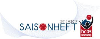 Logo hc03, Saisonheft