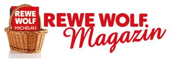 Logo REWE WOLF Magazin
