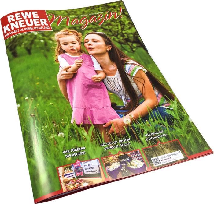 Magazingestaltung monatlich