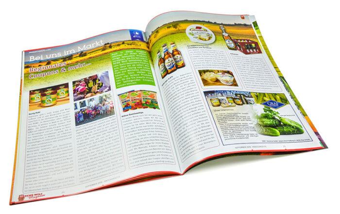 Zeitschriftgestaltung, Seitenlayout
