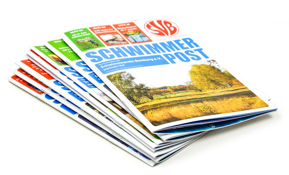 A5 format monatliche Zeitschrift