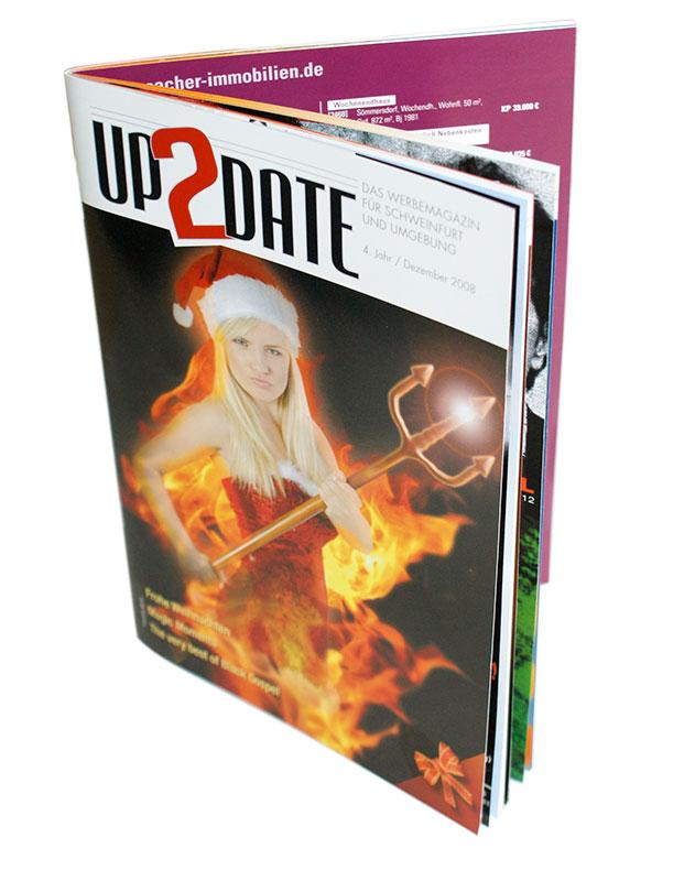 Composing für eine Zeitschrift