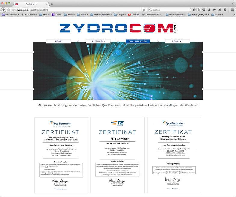 Webdesign - Werbeagentur in Schweinfurt