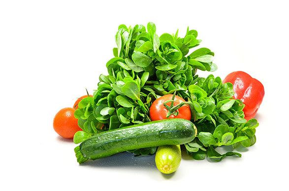 produktfotografie, paprika, zucchini, tomaten