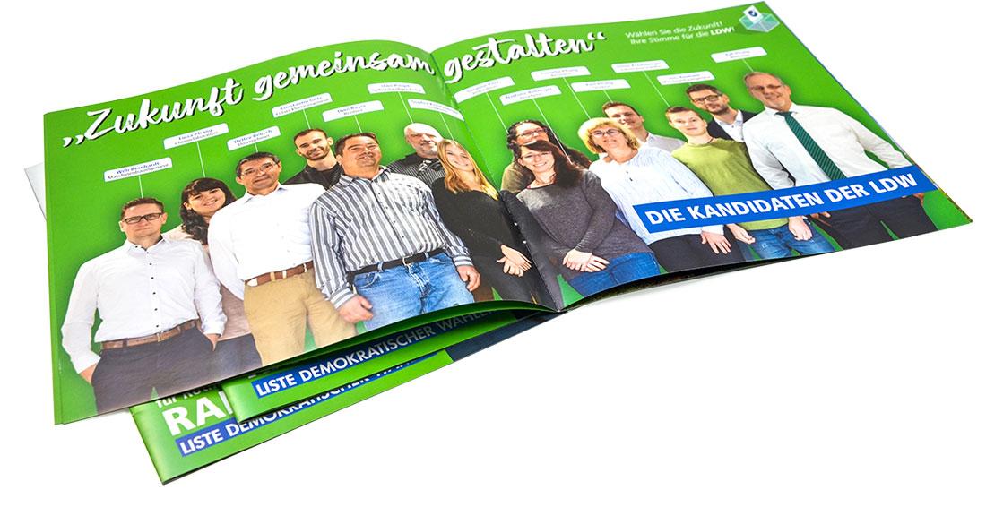 Wahlbroschüre