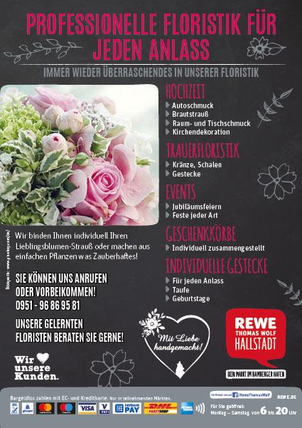 Flyer-Floristik