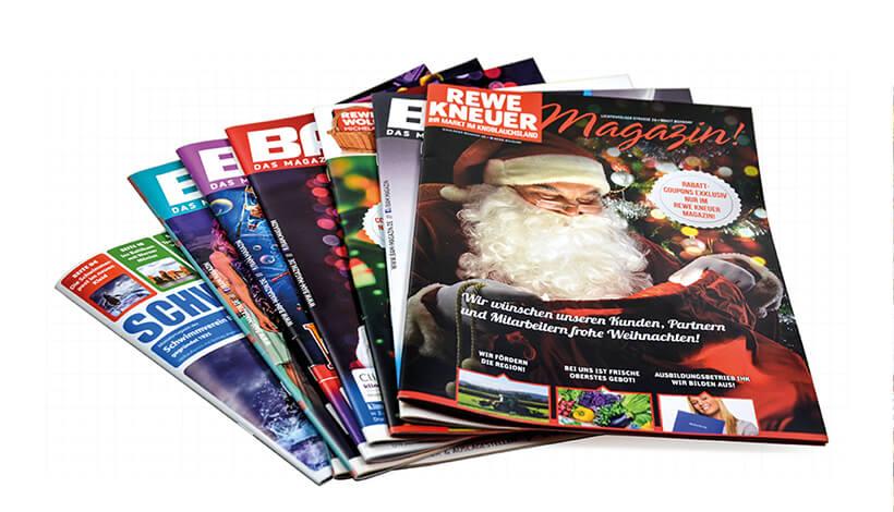 Monatliche Magazine