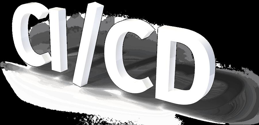 CI-CD, 3D Schriftzug