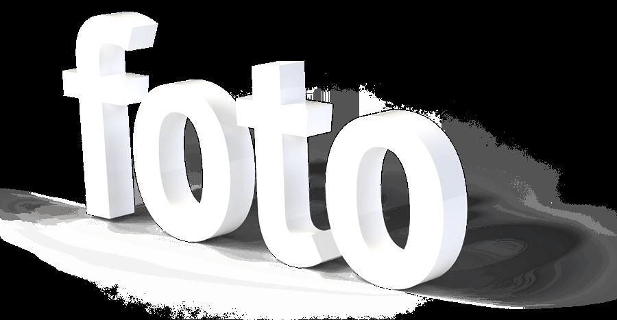 Foto 3D Schriftzug