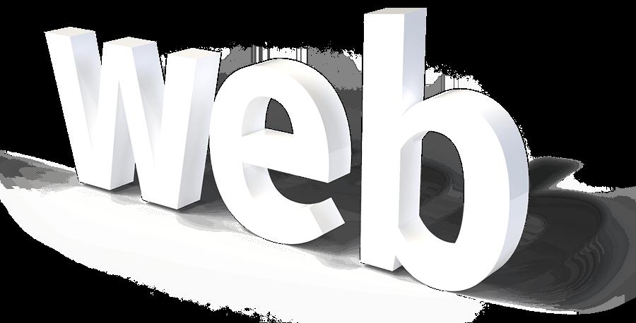 web 3D Schriftzug