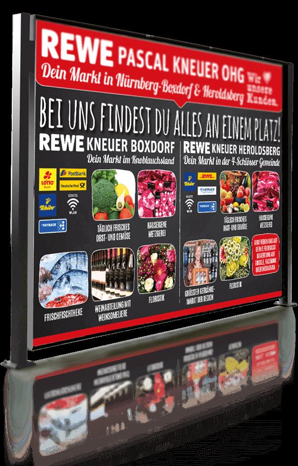GF Plakat REWE Kneuer
