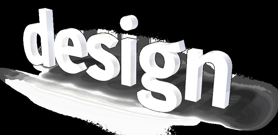 Design 3D Schriftzug
